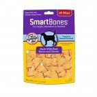 SmartBones Bacon & Cheese Chew Dog Treats, Mini 16-ct