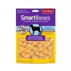 SmartBones Bacon & Cheese Chew Dog Treats, Mini 24-ct