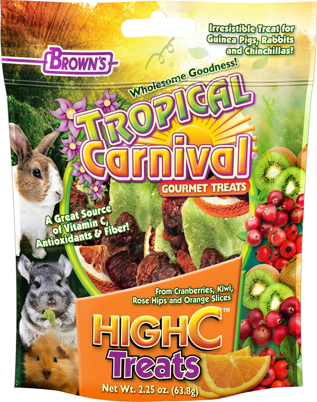 Brown's Tropical Carnival High C Small Animal Treats, 2.25-oz bag