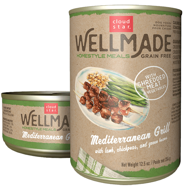 Cloudstar Wellmade Grain-Free Homestyle Mediterranean Grill with Lamb Wet Dog Food