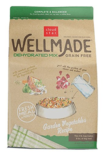 Cloudstar Wellmade Grain-Free Dehydrated Mix Garden Vegetable Recipe Dog Food