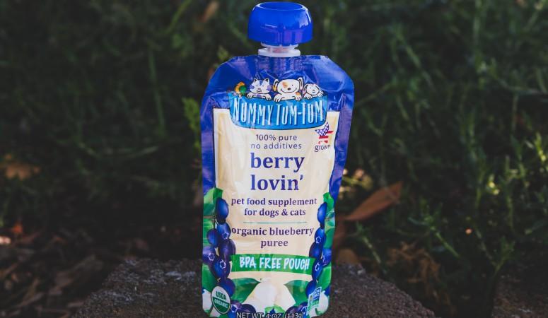 Nummy Tum-Tum Organic Berry Lovin' Blend Pouch