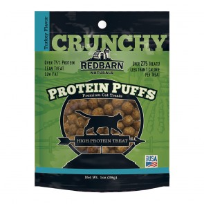 Redbarn Protein Puff Turkey Cat Treat