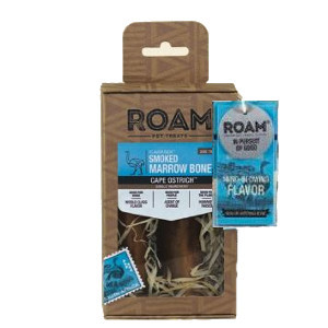 Roam Ostrich Smoke Marrow Bone 2 Pack