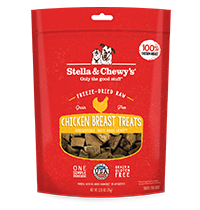 Stella & Chewy's Chicken Breast Dog Treats, 2.75-oz
