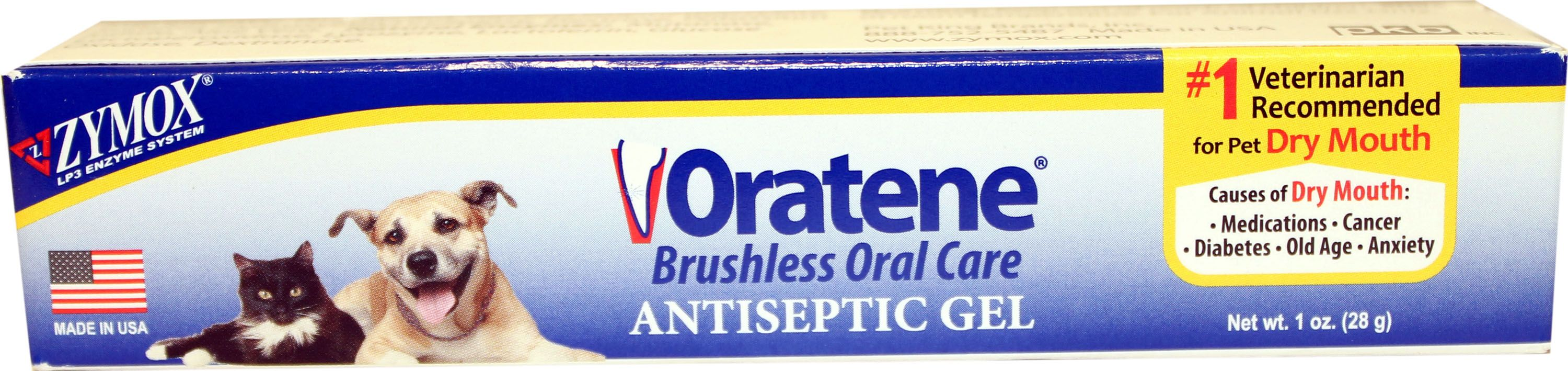 Oratene Antiseptic Oral Gel for Dogs & Cats