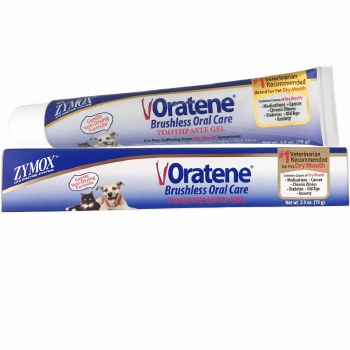 Oratene Brushless Enzymatic Oral Care Therapy Dental Gel for Dogs & Cats