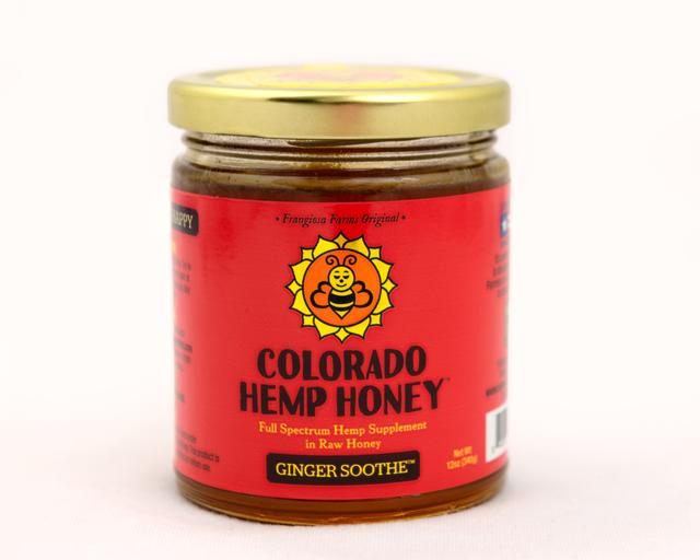 Colorado Honey Ginger Soothe Full Spectrum Extract Jar, 12-oz (1000-mg)