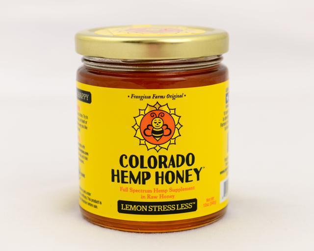 Colorado Honey Lemon Stress Less Full Spectrum Extract Jar, 12-oz (1000-mg)
