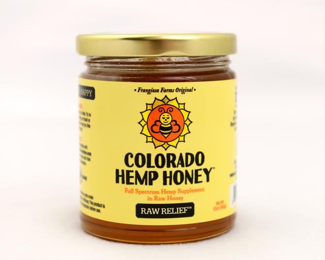 Colorado Honey Raw Relief Full Spectrum Extract Jar, 12-oz (1000-mg)