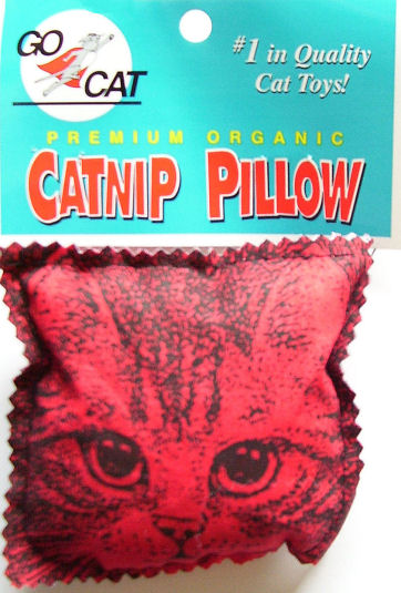 Go Cat Catnip Pillow with Catnip