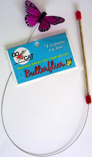 Go Cat Butterflier Cat Toy