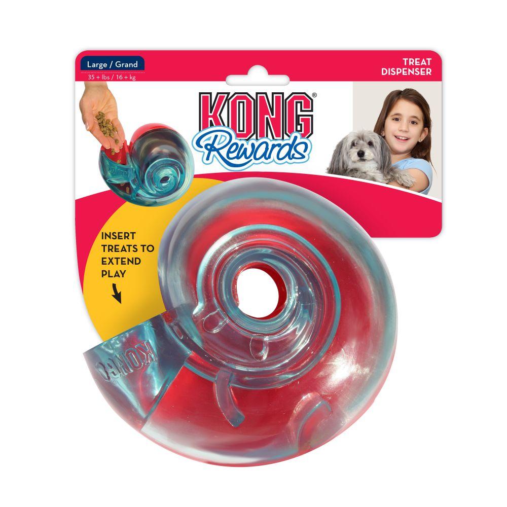 KONG Rewards Shell Dog Toy, Large