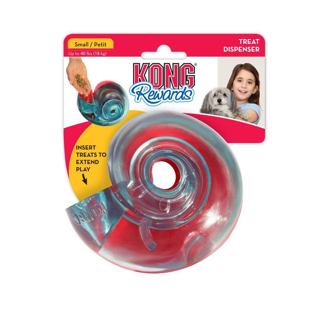 KONG Rewards Shell Dog Toy, Small