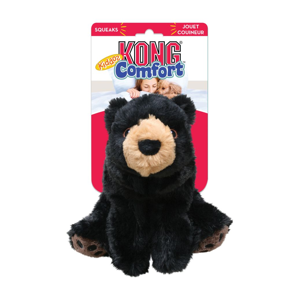 KONG Comfort Kiddos Bear Plush Dog Toy, Small