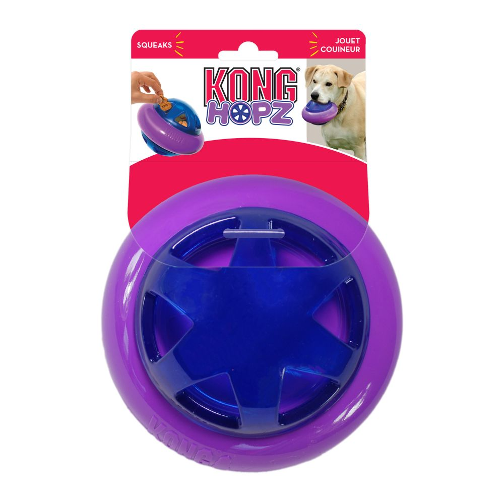 KONG Hopz Ball Dog Toy, Small