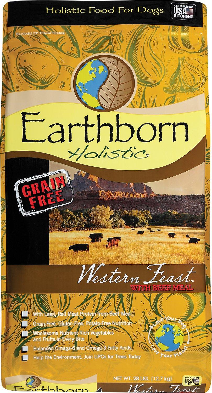 Earthborn Holistic Western Feast Feast Grain-Free Natural Dry Dog Food