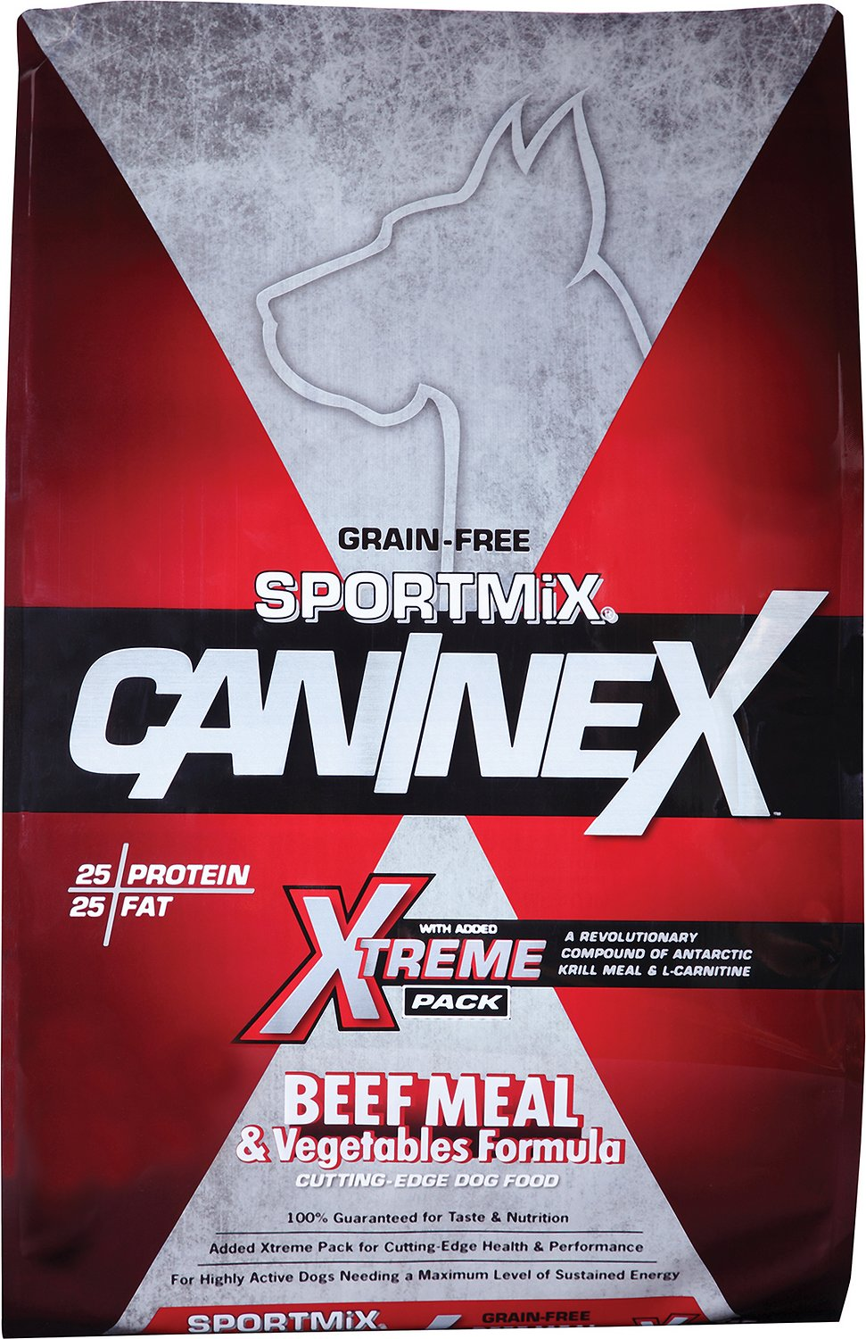SPORTMiX CanineX Beef Meal & Vegetable Formula Dry Dog Food