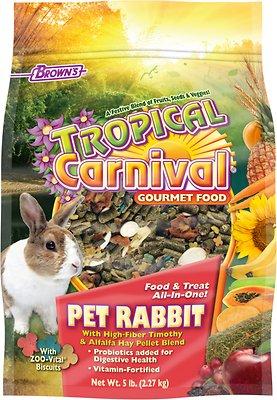 Brown's Tropical Carnival Rabbit Food