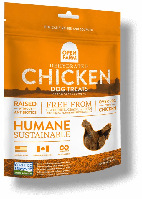 Open Farm Dehydrated Chicken Dog Treat