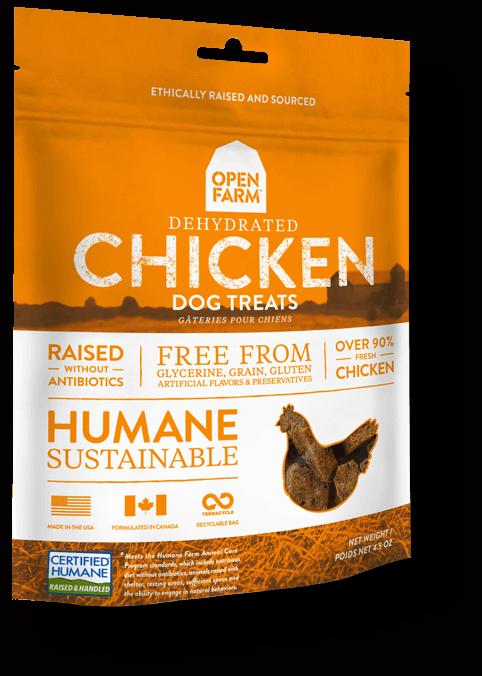 Open Farm Dehydrated Chicken Dog Treat