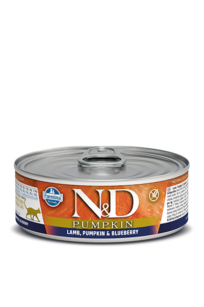 Farmina Natural & Delicious Lamb, Pumpkin & Blueberry Feline Formula Wet Food , 2.8-oz