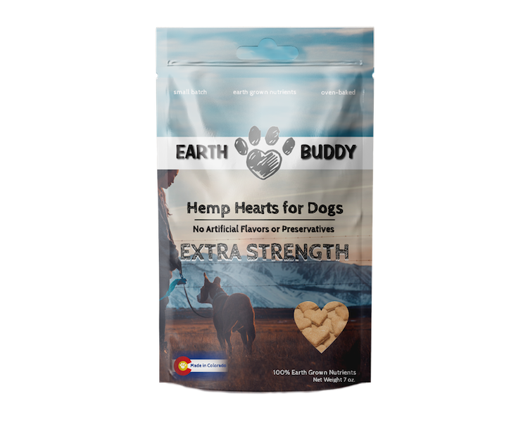 Earth Buddy Hearts for Dogs - Extra Strength 4MG