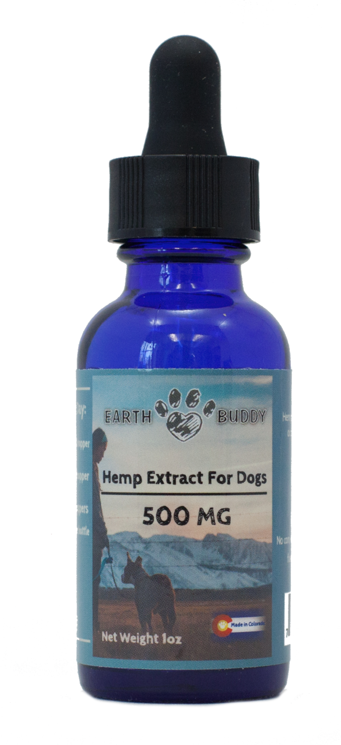 Earth Buddy Extract for Dogs - 500mg