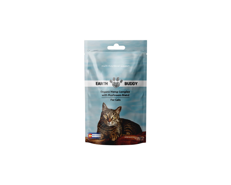 Earth Buddy Organic Complex with Mushroom Cat Blend