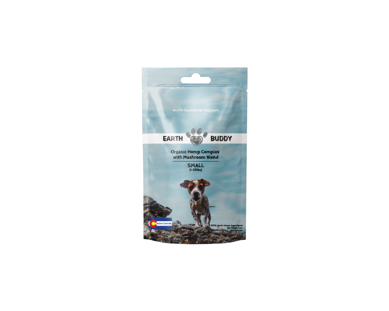 Earth Buddy Organic Complex with Mushroom Blend - Small Breed Dog
