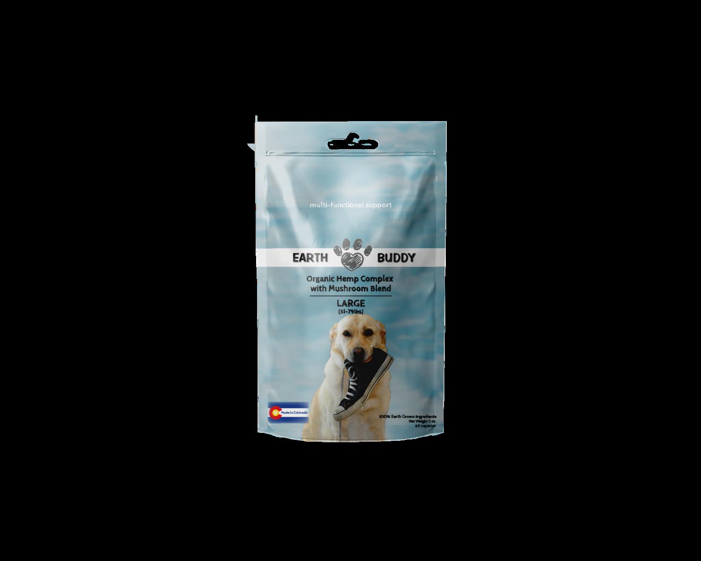 Earth Buddy Organic Complex with Mushroom Blend - Large Breed Dog