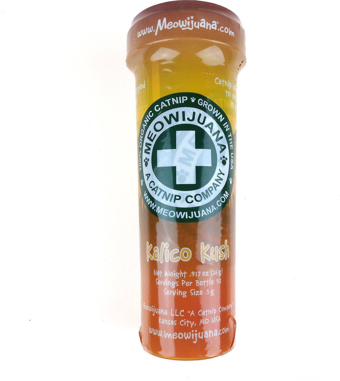 Meowijuana Kalico Kush - Catnip & Valerian Root Blend
