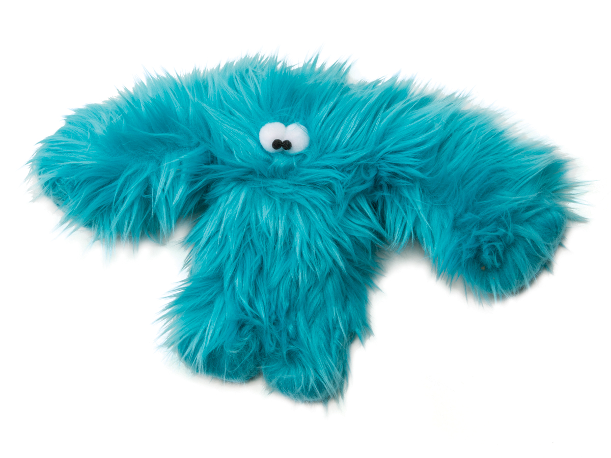 West Paw Baby Salsa Turquoise Dog Toy