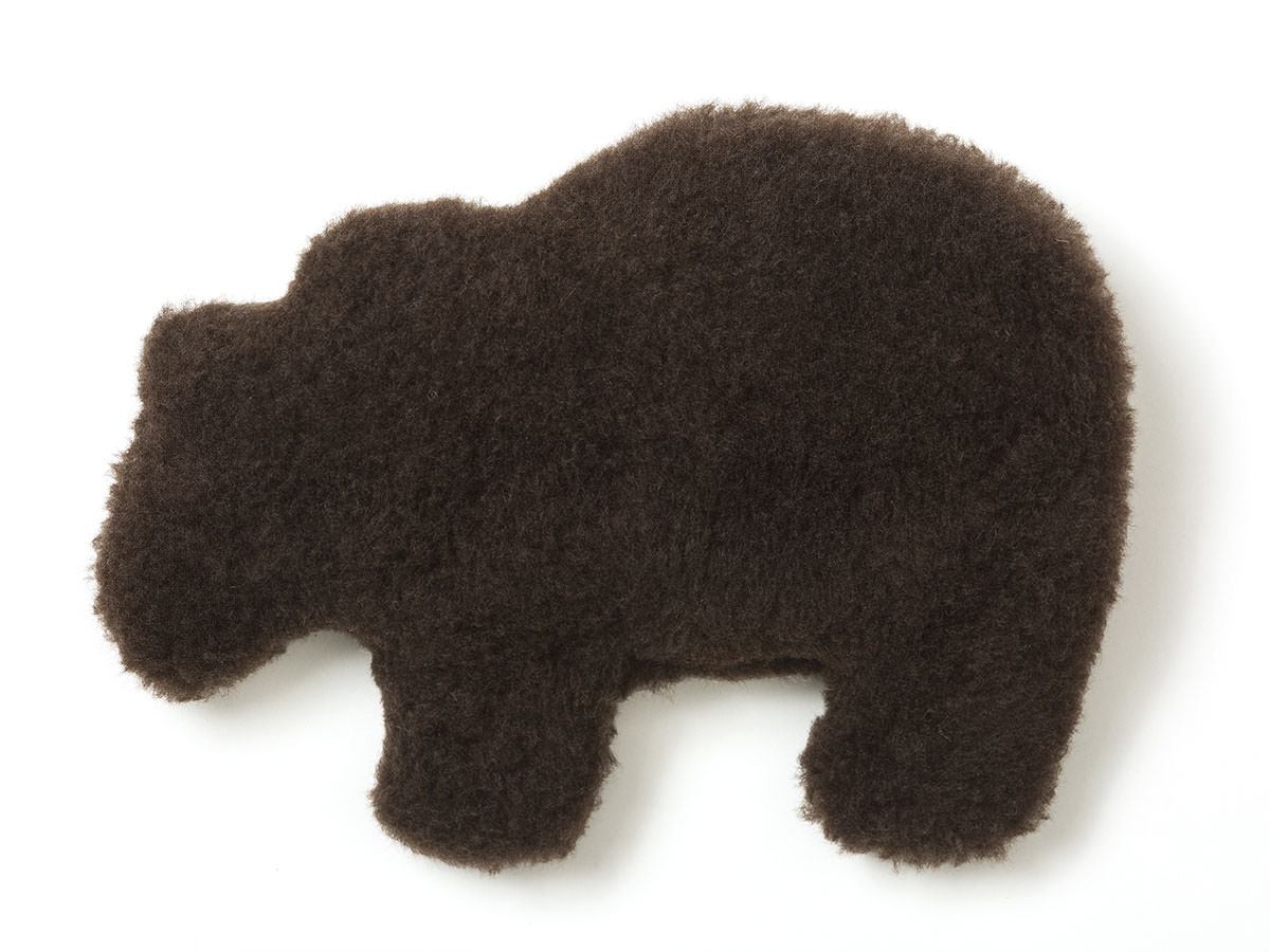 West Paw  Gallatin Grizzly Squeak Toy For Dogs, Boulder