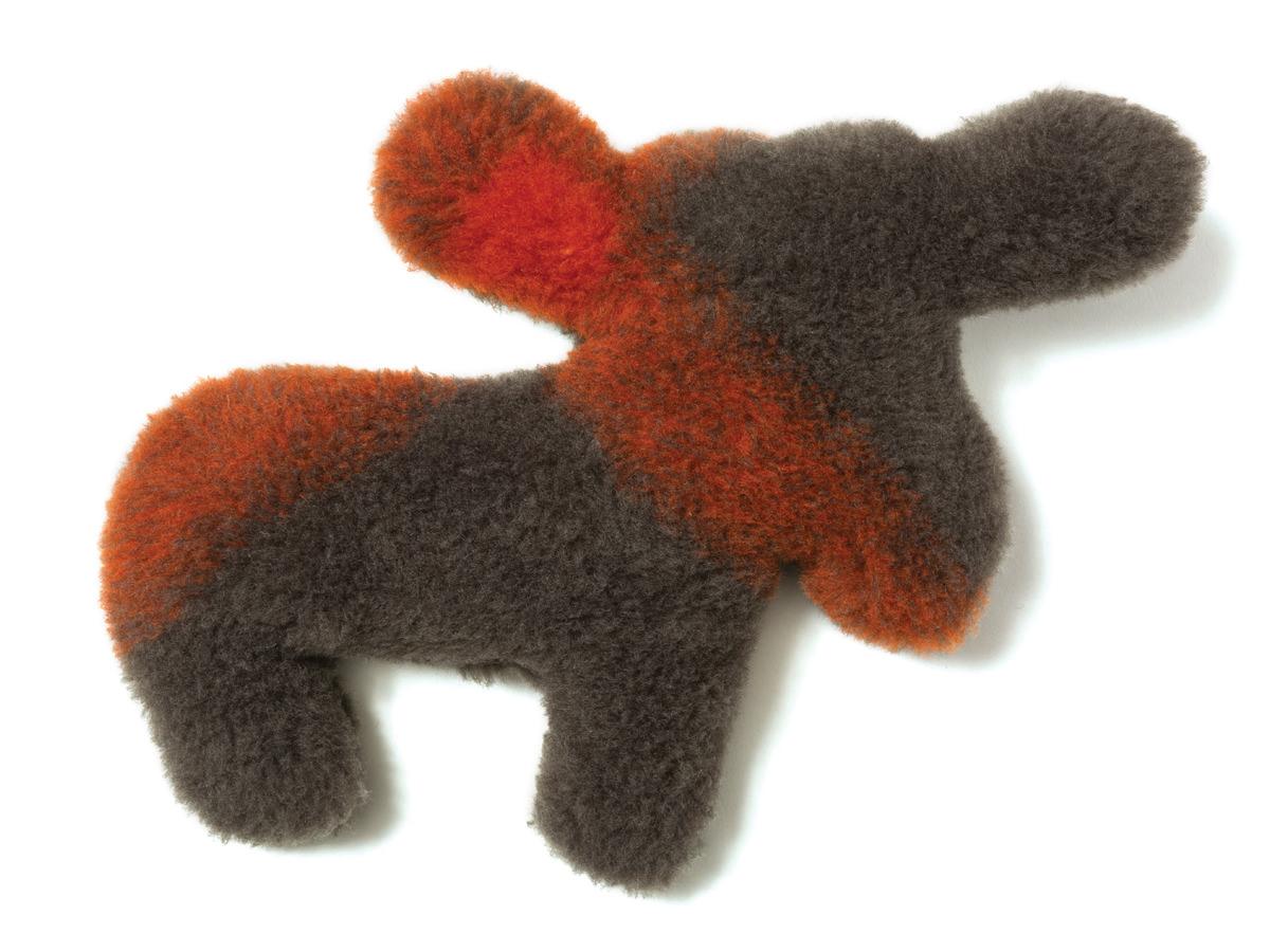 West Paw Madison Moose Dog Toy, Plaid