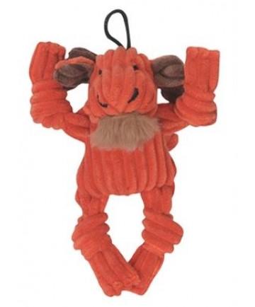 HuggleHounds Wee Knottie Moose Plush Dog Toy