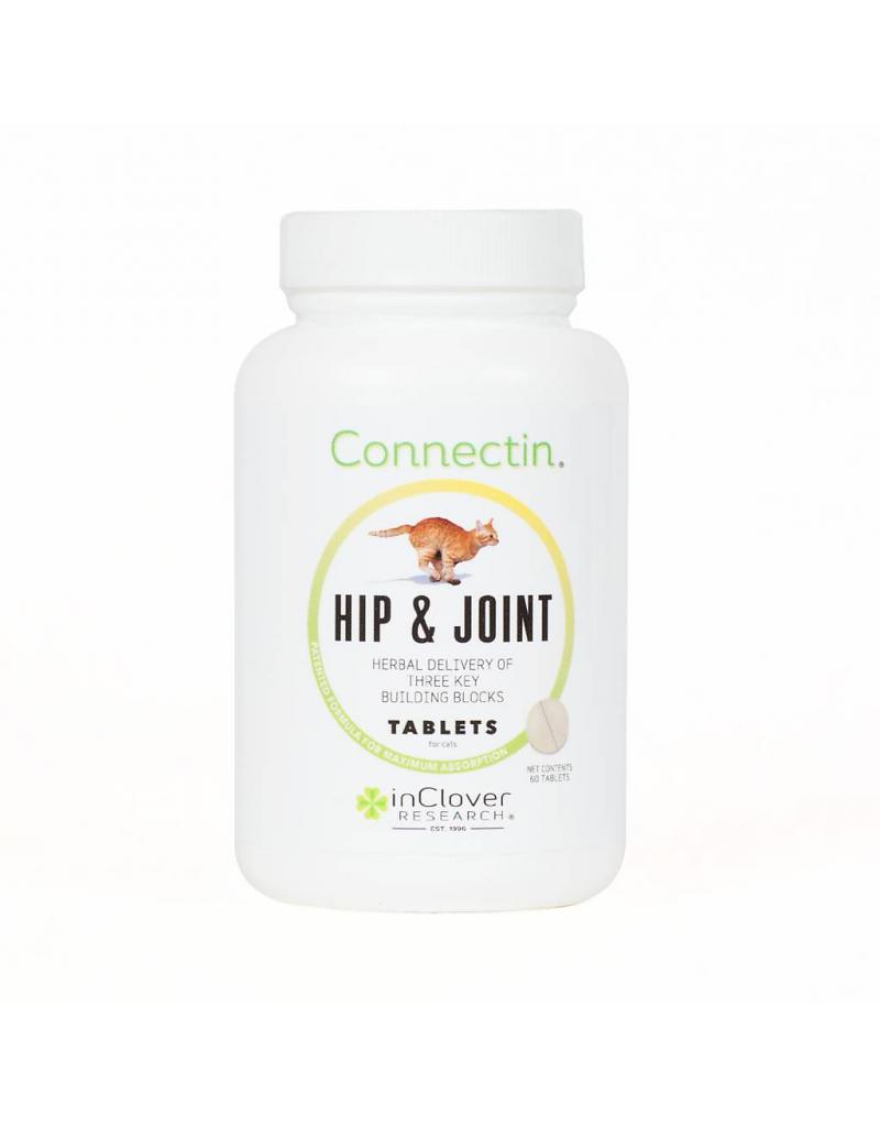 inClover Feline Connectin Hip & Joint Tablets Cat Supplement, 60-count