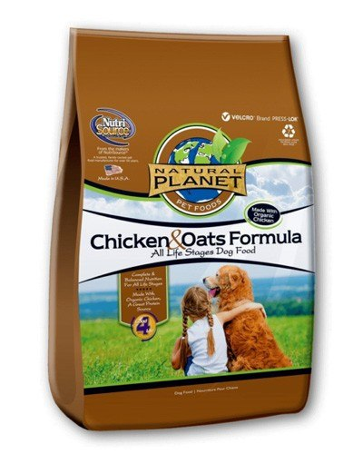 Natural Planet Organics Chicken & Oats Formula Dry Food for Dogs