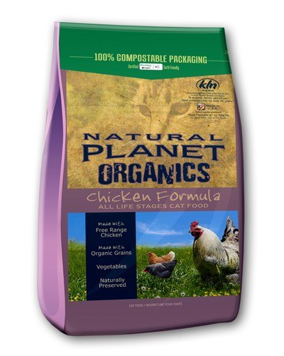 Natural Planet Organics Chicken & Peas Formula Dry Food for Cats