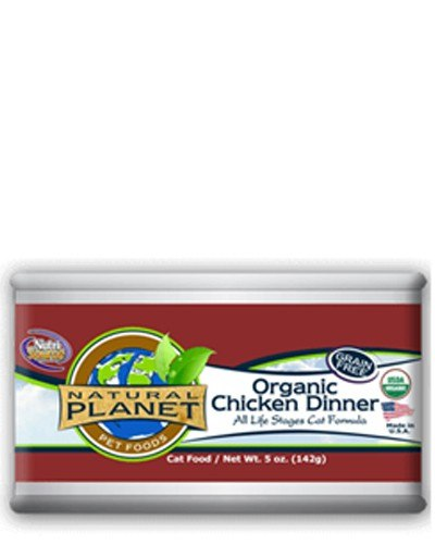 Natural Planet Organics Chicken Dinner Canned Cat Food