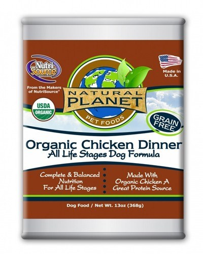 Natural Planet Organics Chicken Dinner Canned Dog Food