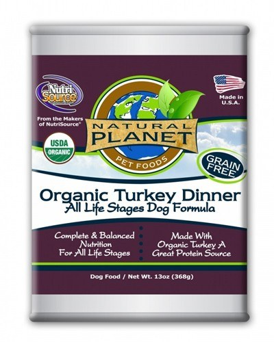 Natural Planet Organics Turkey Dinner Canned Dog Food
