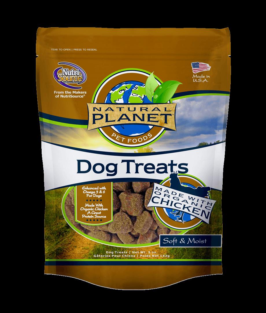 Natural Planet Organics Chicken Soft & Moist Treats, 5-oz