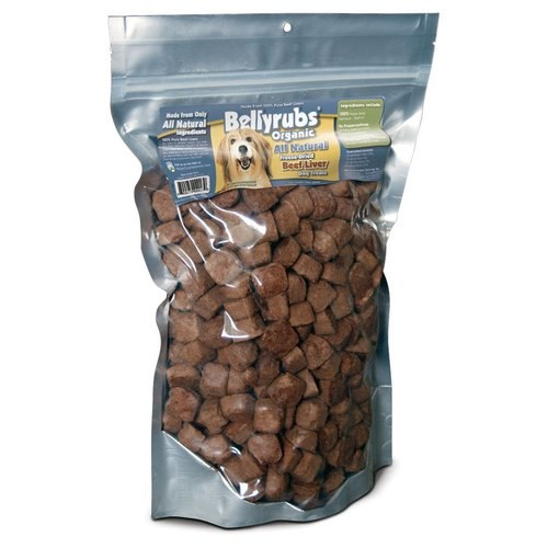 Bellyrubs Organic All Natural Beef Liver Freeze-Dried Dog Treats