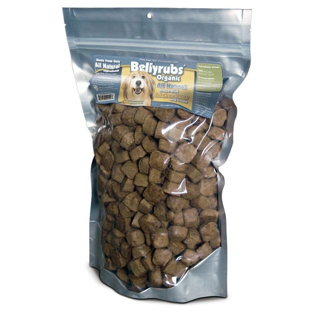 Bellyrubs Organic All Natural Chicken Liver Freeze-Dried Dog Treats