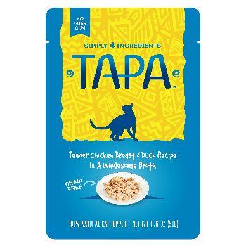 Rawz Cat Tapa Topper Chicken & DuckPouch