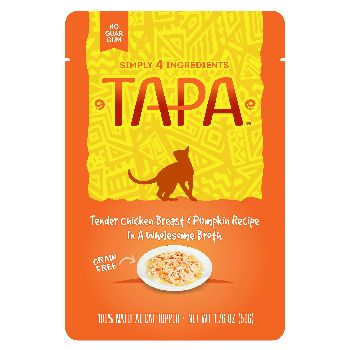 Rawz Cat Tapa Topper Chicken & Pumpkin Pouch