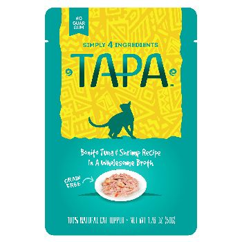 Rawz Cat Tapa Topper Tuna & Shrimp Pouch