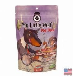 My Little Wolf Turkey Bliss Recipe Grain-Free Dog Treats