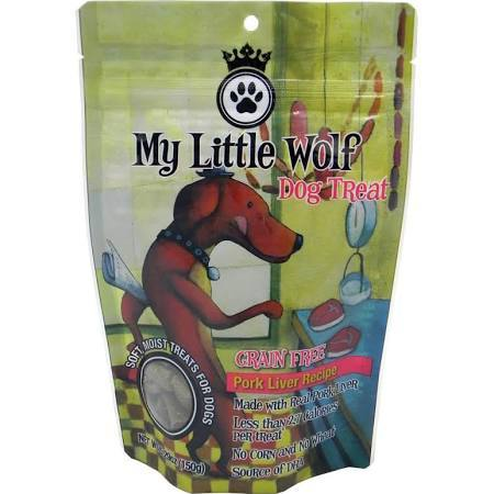 My Little Wolf Grain Free Pork Pleaser Recipe Dog Treats